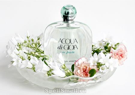 d8e91ad3c23c Фото аромата №1. Фото аромата №1. В 2013 году впервые вышел романтичный  микс Giorgio Armani Acqua di Gioia Eau Fraiche.
