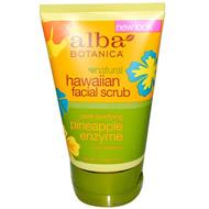 Alba Botanica Havaiian Pineapple Enzyme Facial Scrub