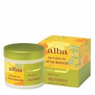 Alba Botanica Aloe and Green Tea Moisturizer