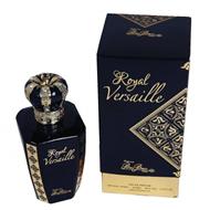 Bleu Blanc Fleur Royal Versaille Black