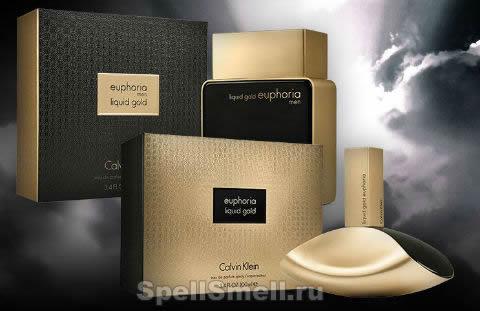 Calvin Klein Liquid Gold Euphoria Men