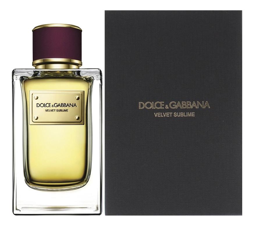 Dolce & Gabbana Velvet Sublime