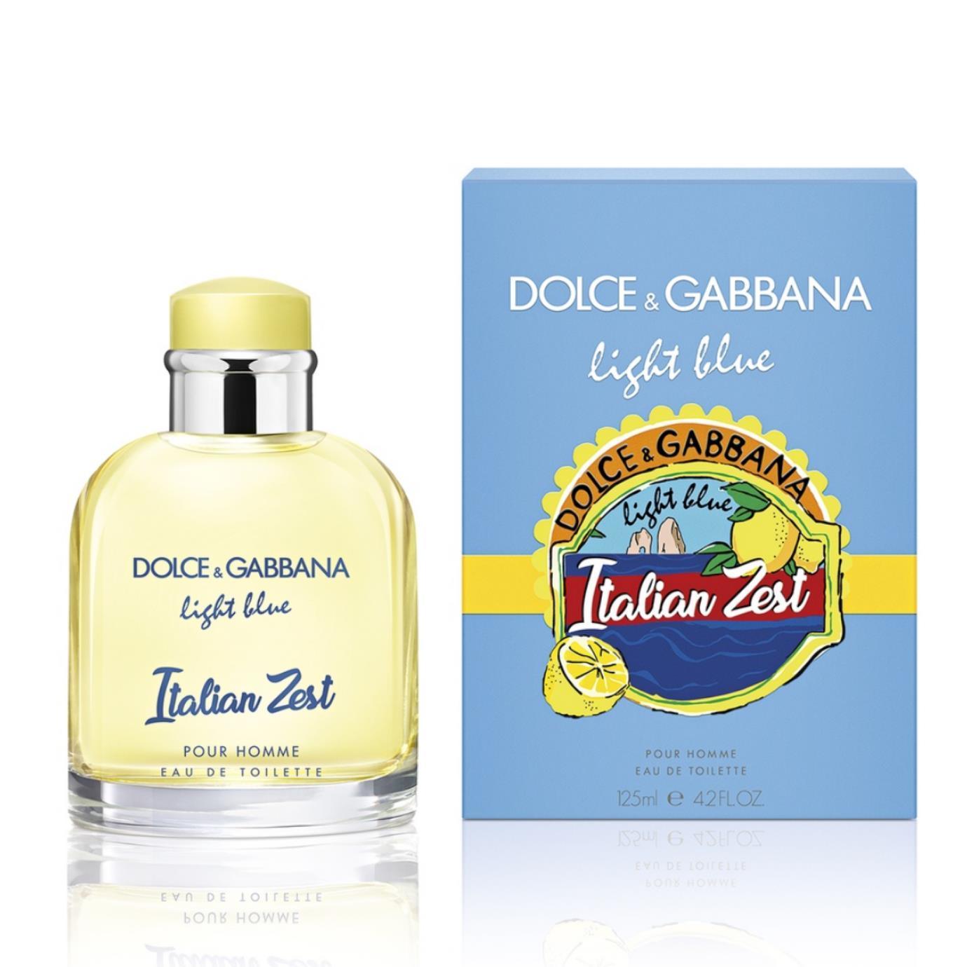 Dolce Gabbana Light Blue Italian Zest Pour Homme купить духи