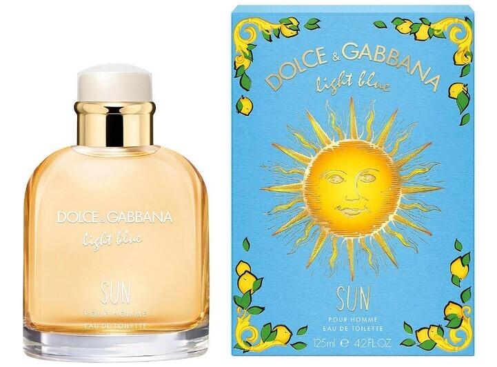 Dolce & Gabbana Light Blue Sun for Men
