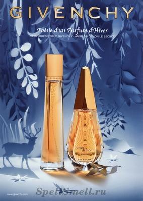Givenchy Ange ou Demon le Secret Poesie d un Parfum d Hiver 2011