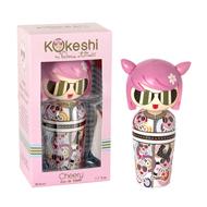 Kokeshi Cherry by Valeria Attinelli
