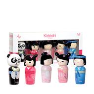 Kokeshi Kokeshi 5 Miniatures Set