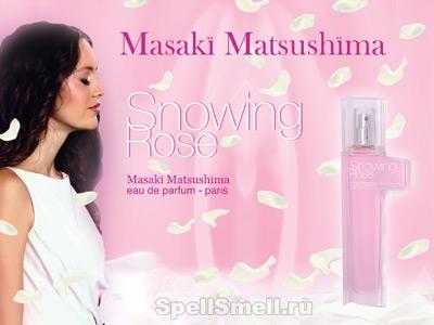 Masaki Matsushima Snowing Rose