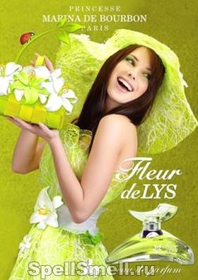Princesse Marina De Bourbon Fleur de Lys
