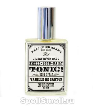 West Third Brand Vanille de Santos