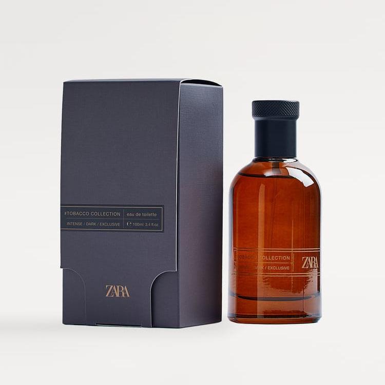 Zara Tobacco Collection Intense Dark Exclusive