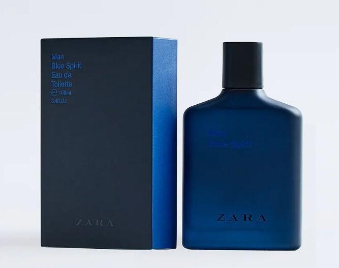 Zara Man Blue Spirit 2017