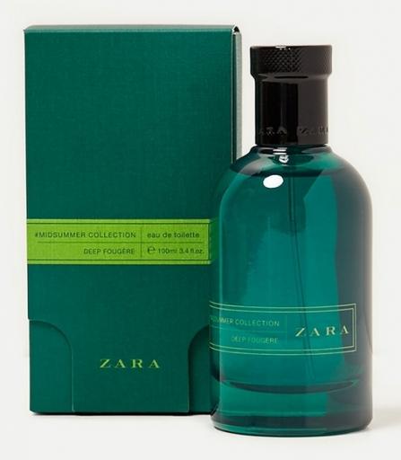 Zara Midsummer Collection Deep Fougere