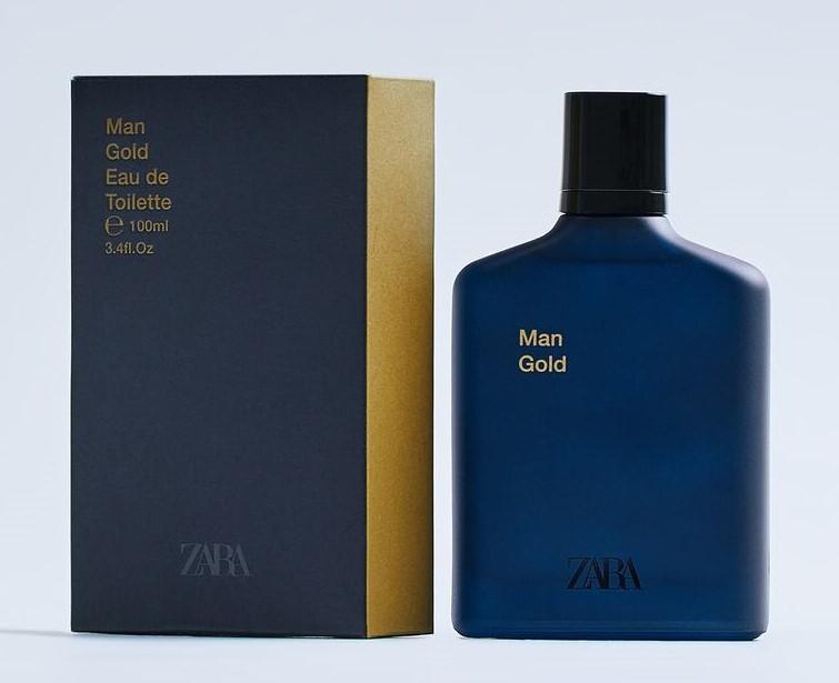 Zara Man Gold 2017 купить мужские духи туалетную воду парфюм мэн